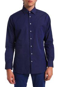 Ανδρικό μονόχρωμο πουκάμισο Arrow - 47-070041 - Μπλε Σκούρο