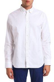 Ανδρικό μακρυμάνικο πουκάμισο μονόχρωμο Arrow - 47-230202 - Λευκό