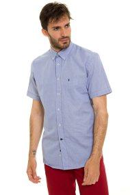 The Bostonians ανδρικό κοντομάνικο πουκάμισο (sizes 50-48) - BAP0016X - Μπλε