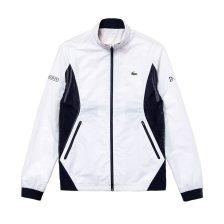 Lacoste ανδρικό μπουφάν με colorblocking Lacoste Sport Novak Djokovic - BH8838 - Λευκό