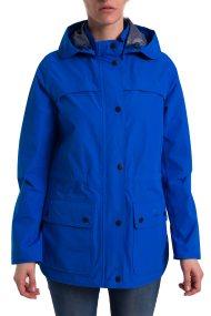 Γυναικείο αδιάβροχο μπουφάν με κουκούλα Barometer Barbour - LWB0460 - Μπλε