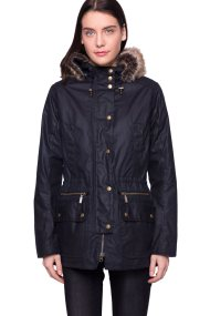 Barbour γυναικείο μπουφάν Kelsall - LWX0303 - Μπλε Σκούρο