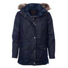 Barbour γυναικείο μπουφάν Southwold με κουκούλα - LWX0861 - Μπλε Σκούρο