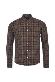 Barbour ανδρικό πουκάμισο Stapleton Malcolm - MSH3234 - Καφέ