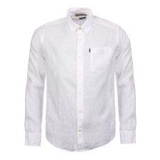 Barbour ανδρικό λινό πουκάμισο - MSH3336 - Λευκό