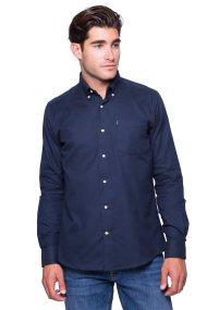 Ανδρικό πουκάμισο Barbour - MSH3532 - Μπλε Σκούρο
