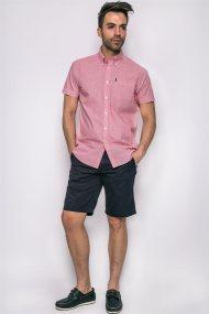 Ανδρικό πουκάμισο, Barbour - MSH3620 - Κόκκινο