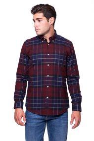 Barbour ανδρικό πουκάμισο Lustleigh - MSH3749 - Κόκκινο