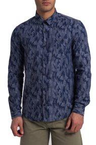 Ανδρικό πουκάμισο Barbour - MSH4154 - Μπλε