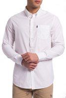 Ανδρικό πουκάμισο Spencer Tailored Fit Barbour - MSH4222 - Λευκό image