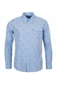 Barbour Sails ανδρικό πουκάμισο με μικροσχέδιο ιστιοφόρα - MSH4230 - Γαλάζιο