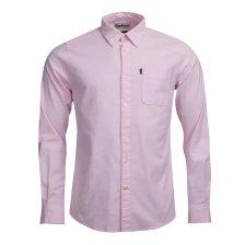 Barbour ανδρικό πουκάμισο μονόχρωμο Oxford - MSH4410 - Ροζ