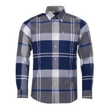 Barbour ανδρικό πουκάμισο καρό με τσέπη Brothwell - MSH4433 - Μπλε Σκούρο