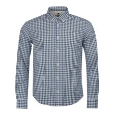 Barbour ανδρικό πουκάμισο καρό με τσέπη Steve McQueen - MSH4437 - Μπλε