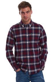 Barbour ανδρικό πουκάμισο καρό Highland 21 - MSH4554 - Μπορντό