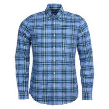 Barbour ανδρικό καρό πουκάμισο Highland - MSH4657 - Μπλε Ανοιχτό