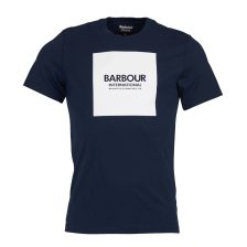 Barbour ανδρικό T-shirt International block print - MTS0540 - Μπλε Σκούρο