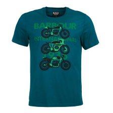 Barbour ανδρικό T-shirt International tri bike - MTS0543 - Κυπαρισσί