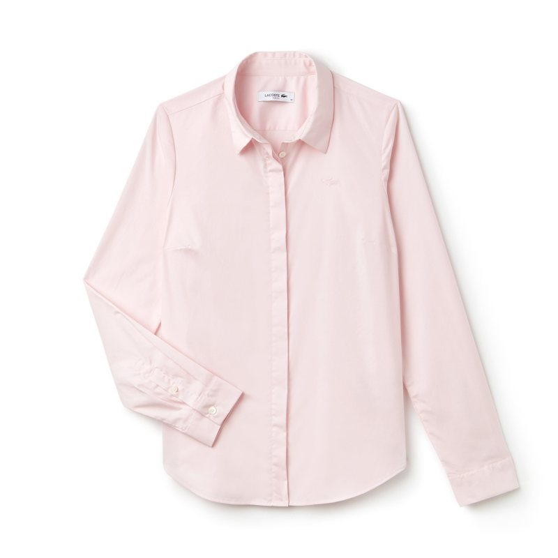 fe2f06180cc6 Lacoste Γυναικεία πουκάμισα 2019 από το Notos