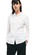 2579fc472bb3 Lacoste γυναικείο πουκάμισο ριγέ - CF9239 - Λευκό