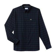 Lacoste ανδρικό καρό πουκάμισο - CH0461 - Κυπαρισσί