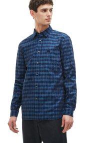 Ανδρικό πουκάμισο Lacoste - CH9562 - Μπλε