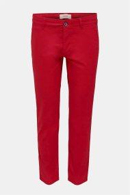 Esprit ανδρικό chino παντελόνι μονόχρωμο (L32) - 010EE2B309 - Κόκκινο