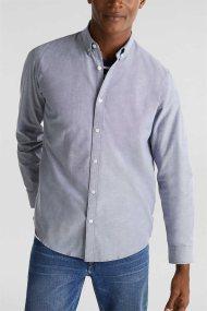 Esprit ανδρικό πουκάμισο με button-down γιακά Oxrford - 010EE2F302 - Μπλε