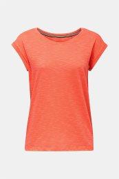 Esprit γυναικείο μονόχρωμο T-shirt - 020EE1K308 - Πορτοκαλί