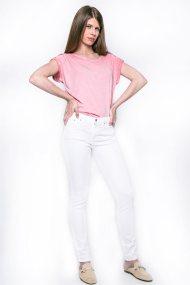 Γυναικείο παντελόνι, Esprit - 027EE1B012 - Λευκό