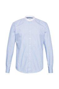 Esprit ανδρικό ριγέ πουκάμισο με τεχνολογία COOLMAX® - 029EE2F003 - Γαλάζιο