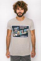 Ανδρικό T-shirt, Esprit - 057EE2K013 - Εκρού image