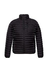 Esprit ανδρικό μπουφάν καπιτονέ με ψηλό γιακά - 079EE2G003 - Μαύρο