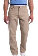 Ανδρικό παντελόνι μονόχρωμο classic fit Chaps - F01-CMA87-D0W02 - Γκρι Ανοιχτό image