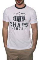 Ανδρικό T-shirt, Chaps - F01-XZA9N-XYA9N - Λευκό image