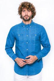 Ανδρικό πουκάμισο Chaps - F01-XZAAX-XYAAX - Μπλε