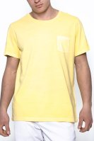 Ανδρική κοντομάνικη μπλούζα GANT - 264100 - Κίτρινο image