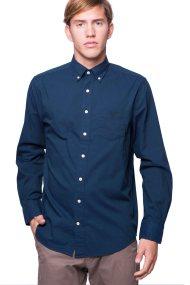 Ανδρικό πουκάμισο Gant - 3001330 - Μπλε Σκούρο