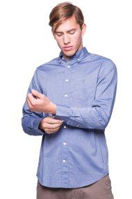 Ανδρικό πουκάμισο Gant - 3001330 - Μπλε