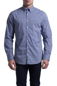Ανδρικό πουκάμισο Broadcloath Gant - 3006030 - Μπλε