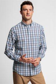 Gant ανδρικό καρό πουκάμισο με button-down γιακά Tech Prep™ - 3013720 - Μπεζ