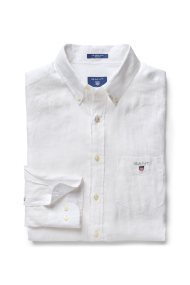 7e60da6c22bb Ανδρικό πουκάμισο The Regular Linen GANT - 3040620 - Λευκό