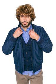 Ανδρικό μπουφάν Gant - 7000560 - Μπλε Σκούρο