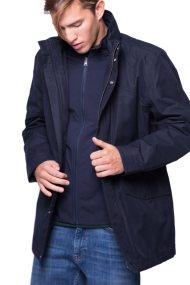 Ανδρικό μπουφάν Gant - 7001503 - Μπλε Σκούρο