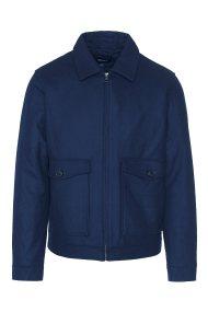 Gant ανδρικό κοντό παλτό Wool Windcheater - 7006009 - Μπλε Σκούρο