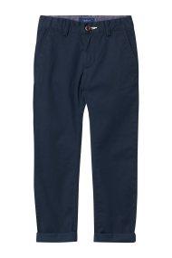 Gant παιδικό παντελόνι chinos μονόχρωμο - 815000 - Μπλε Σκούρο