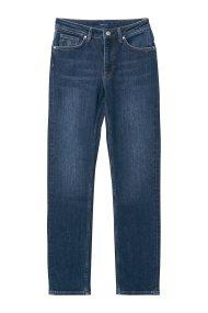 Gant γυναικείο τζην παντελόνι slim (32L) - 4100060 - Μπλε