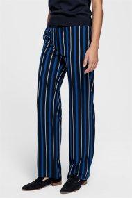 Gant γυναικεία παντελόνα με ρίγες σε διαφορεικά χρώματα - 4150089 - Μπλε