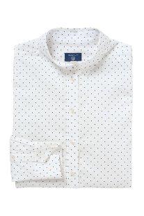 Gant γυναικείο πουκάμισο πουά - 4320052 - Λευκό