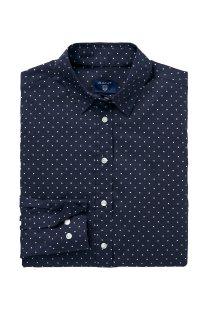 Gant γυναικείο πουκάμισο πουά - 4320052 - Μπλε Σκούρο